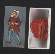 OLD CHINA cigarette cards tobacco insert #312